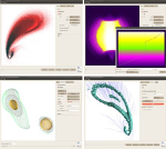 SmoothViz: Visualization of Smoothed Particles Hydrodynamics Data